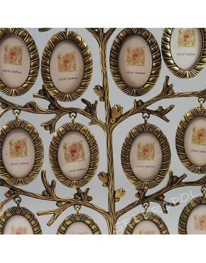 Drzewko genealogiczne mosiądzowane 473-3013