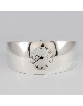 Zegarek srebrny damski na bransolecie Violett 55