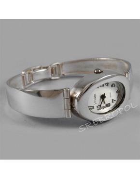Zegarek srebrny damski na bransolecie Violett 73