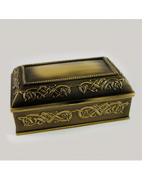Kasetka mosiądzowana na biżuterię 472-9010