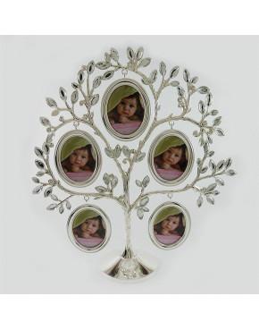 Drzewko genealogiczne posrebrzane - duże owale 473-3176
