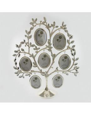 Drzewko genealogiczne posrebrzane - duże owale 473-3174