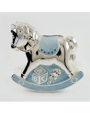 Skarbonka konik - niebieski 473-3145