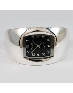 Zegarek srebrny damski na bransolecie + opcja grawer Violett 95