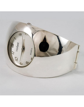 Zegarek srebrny damski na bransolecie + opcja grawer Violett 97