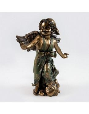 Figurka aniołek z rozłożonymi rękami Veronese WU70499A4