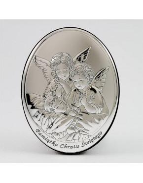 Anioł stróż z dzieckiem - Pamiątka Chrztu Świętego 0330