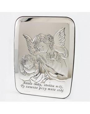 Anioł stróż z latarenką nad dzieckiem 815-0112