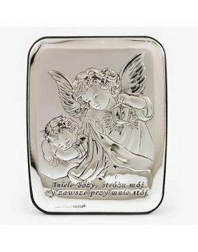 Anioł stróż z latarenką nad dzieckiem 815-0123