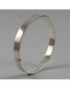Bransoletka srebrna B72/0