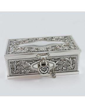 Posrebrzana szkatułka na biżuterię 461-4909