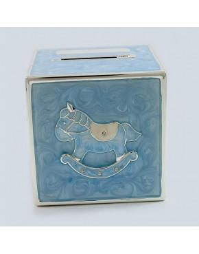 Skarbonka - kostka niebieska 473-3262