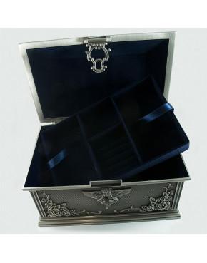 Cynowany kuferek na biżuterię 461-4341