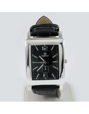 Zegarek srebrny męski + opcja grawer Perfect 62