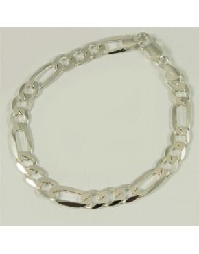 Bransoletka srebrna figaro B78/0