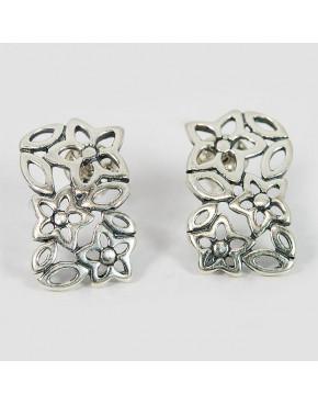 Kolczyki srebrne kwiatuszki WI23 2.9g