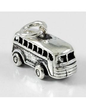 Wisiorek srebrny autobus 24/DI
