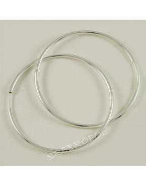 Kolczyki srebrne koła KOL30