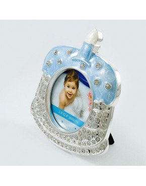 Ramka na zdjęcie na pierwszy roczek - niebieska 473-3163