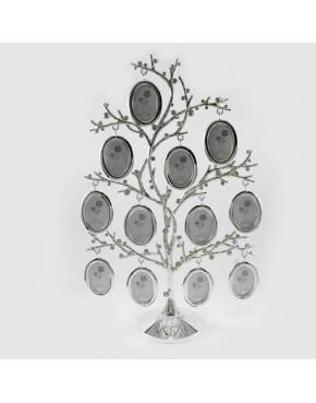 Drzewko genealogiczne posrebrzane na 12 zdjęć 473-3180