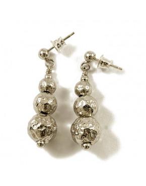 Kolczyki srebrne kuleczki AN39