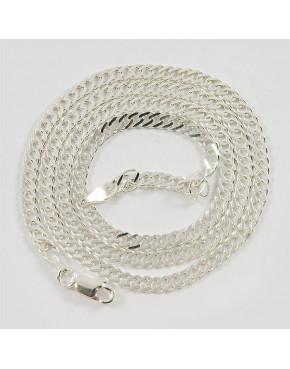 Łańcuszek srebrny rombus Ł33/0 45cm