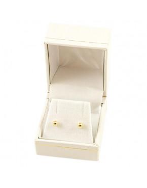 Kolczyki złote kuleczki pr. 585 ZŁ13