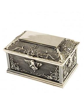 Posrebrzana szkatułka na biżuterię 472-4094