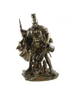 Figurka dekoracyjna Święty Florian - Patron Strażaków WU77624A4