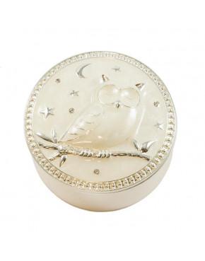 Puzderko, szkatułka na biżuterię sowa 473-3424