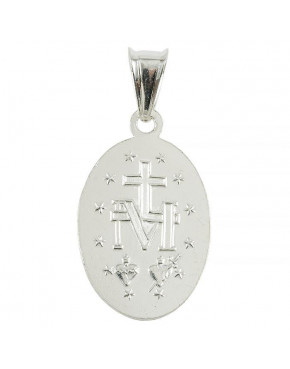 Medalik srebrny Maryja Niepokalana M48