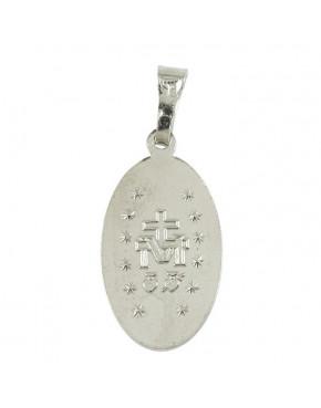 Medalik srebrny Maryja Niepokalana M55