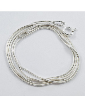 Łańcuszek srebrny linka 45cm ŁAN61