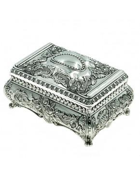 Posrebrzana szkatułka na biżuterię 472-4302