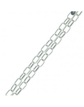 Bransoletka srebrna ankier 21cm BRA56