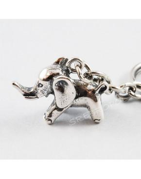 Brelok srebrny słonik BR 53/0