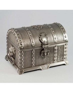 Cynowany kuferek na biżuterię 461-4413