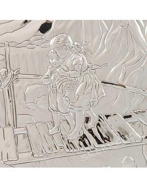 Anioł stróż z dziećmi + opcja grawer 81202/4