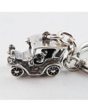 Brelok srebrny samochodzik BR 56/0S