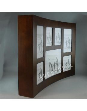 Drewniana ramka na 7 zdjęć MST23