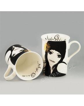 2 kubki MY GIRL - English Collection 115-9847