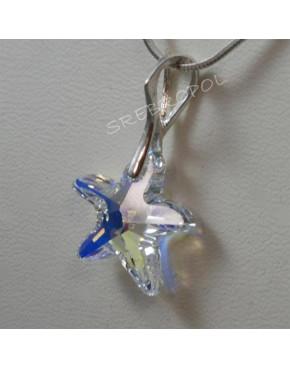 Rozgwiazdy z kryształkami swarovskiego - CRYSTAL AB 16.0 mm
