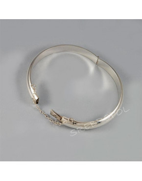 Bransoletka srebrna okrągła B JA 132/0