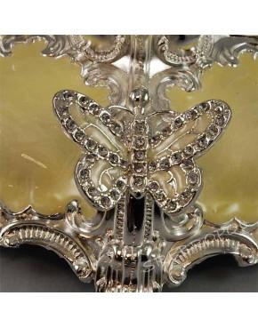 Swiecznik 5-ramienny posrebrzany 466-7426