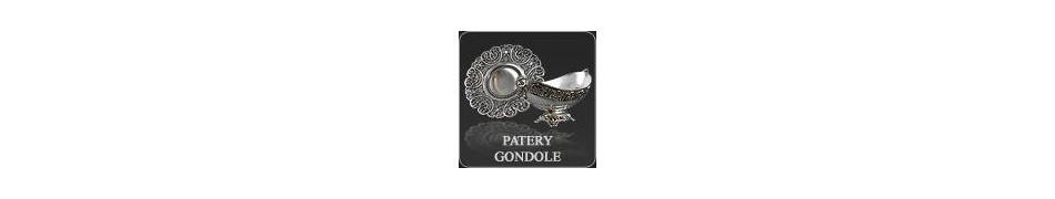 Patery posrebrzane   Patery na stół   Patery ozdobne i gondole - Srebropol